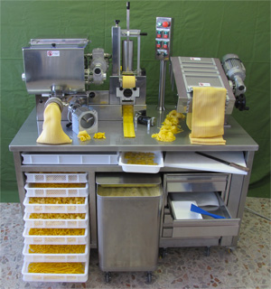 pastation restaurant pasta machine