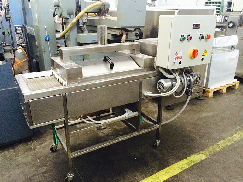 Used pasta machine pasteurizers