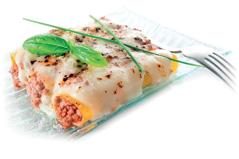 Automatic line plant for pre-cooked Lasagne and Cannelloni