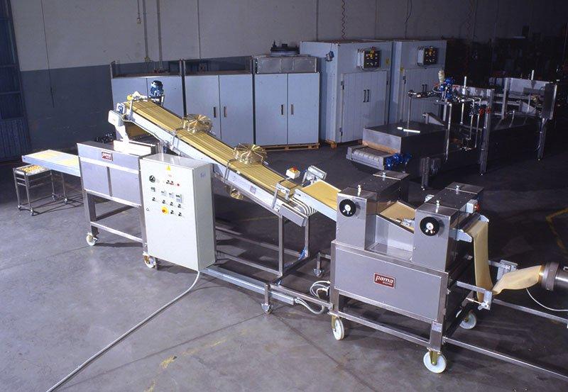 Tagliatelle, Pappardelle, Fettuccine production plants lines