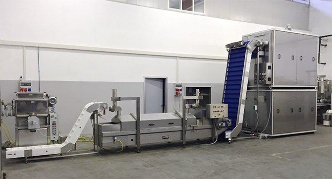 Professional pasta machines Pama Roma