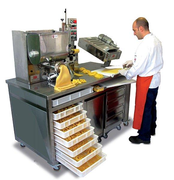 Combined Restaurant pasta machines