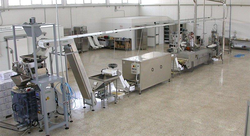 Machines for professional pasta factories