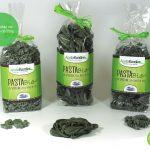 Spirulina organic pasta innovation and Apulian tradition