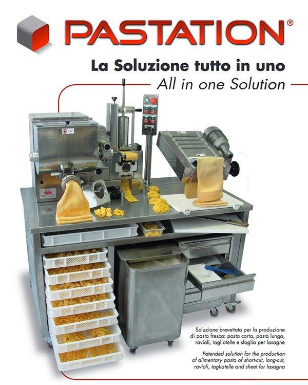 combined pasta machine