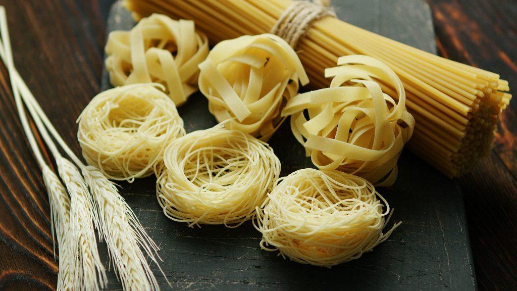 Long pasta types
