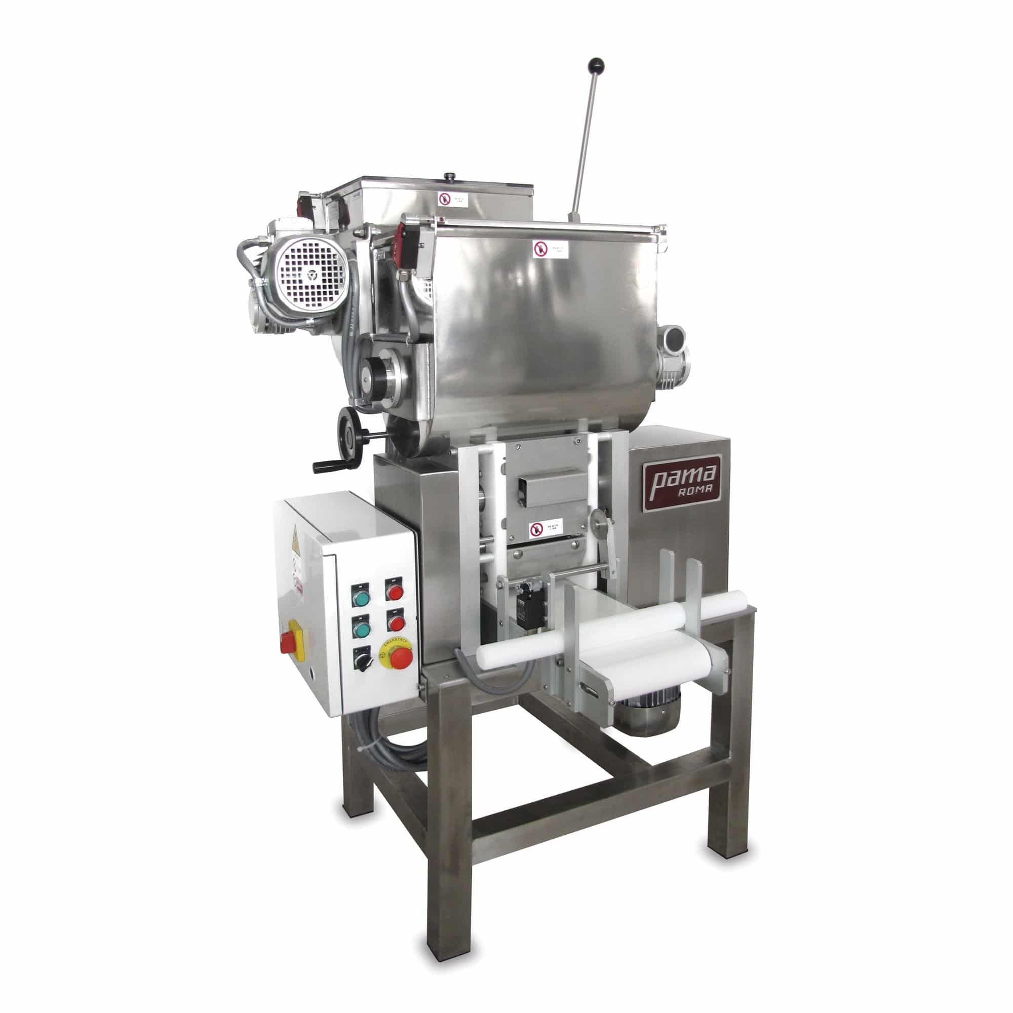 Automatic pasta sheeter for pasta factory
