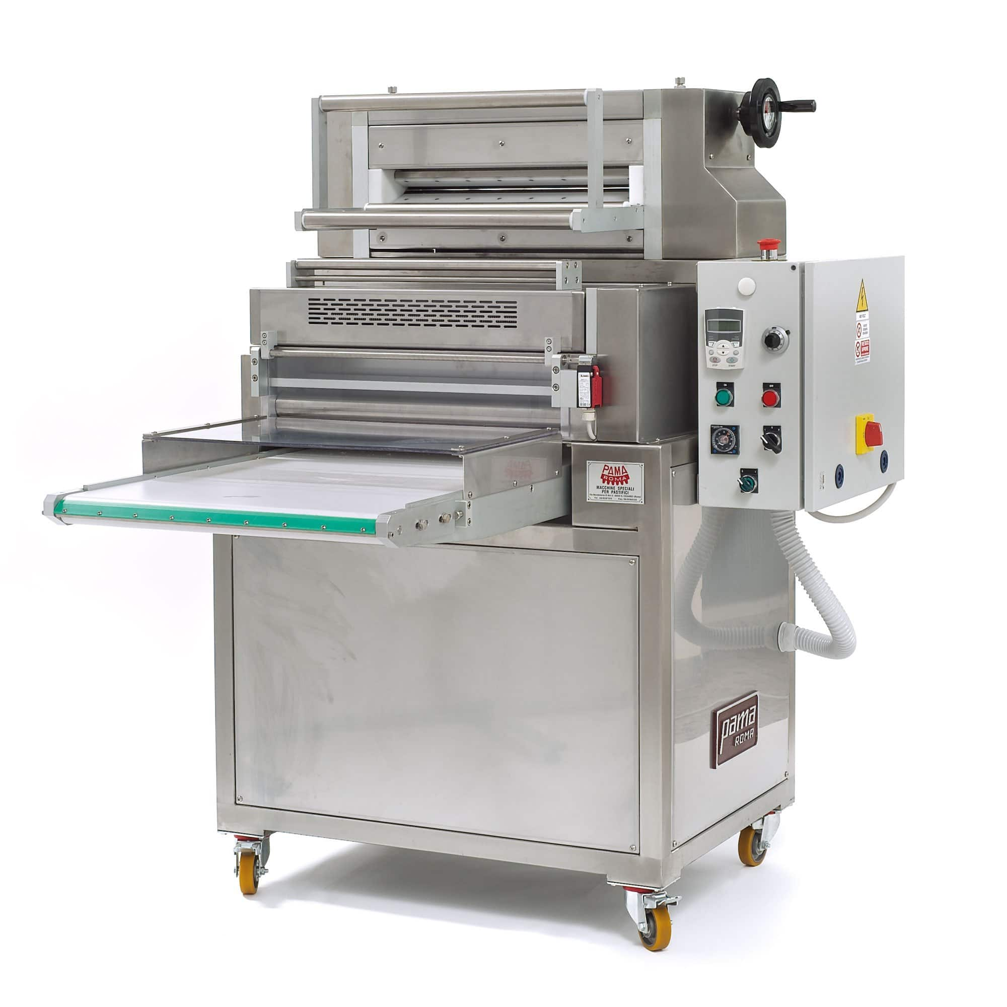 Sheeter and cutter Fresh pasta machines