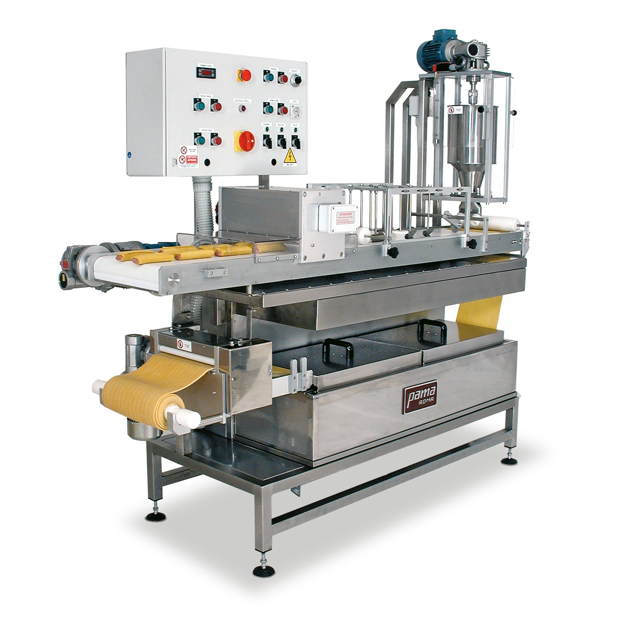 Cannelloni Fresh pasta machines