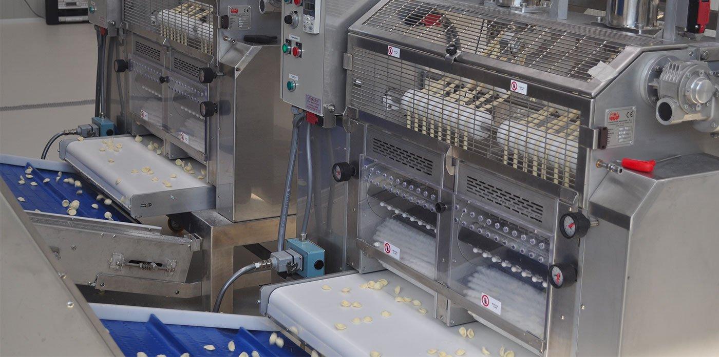 linea produzione orecchiette pamaroma