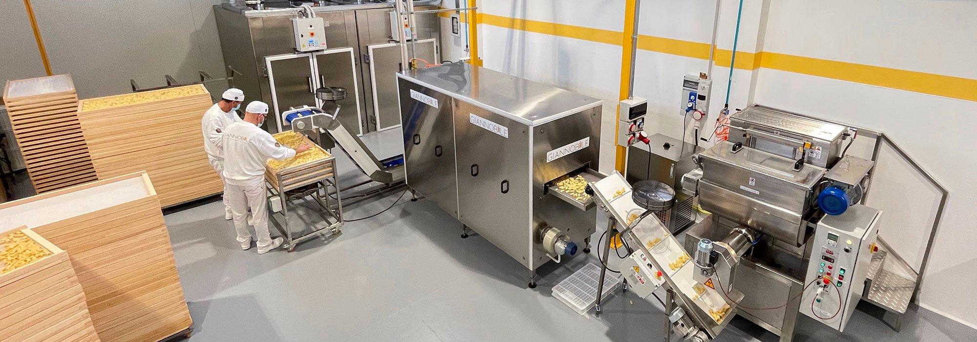 Macchine impianti produzione pasta secca
