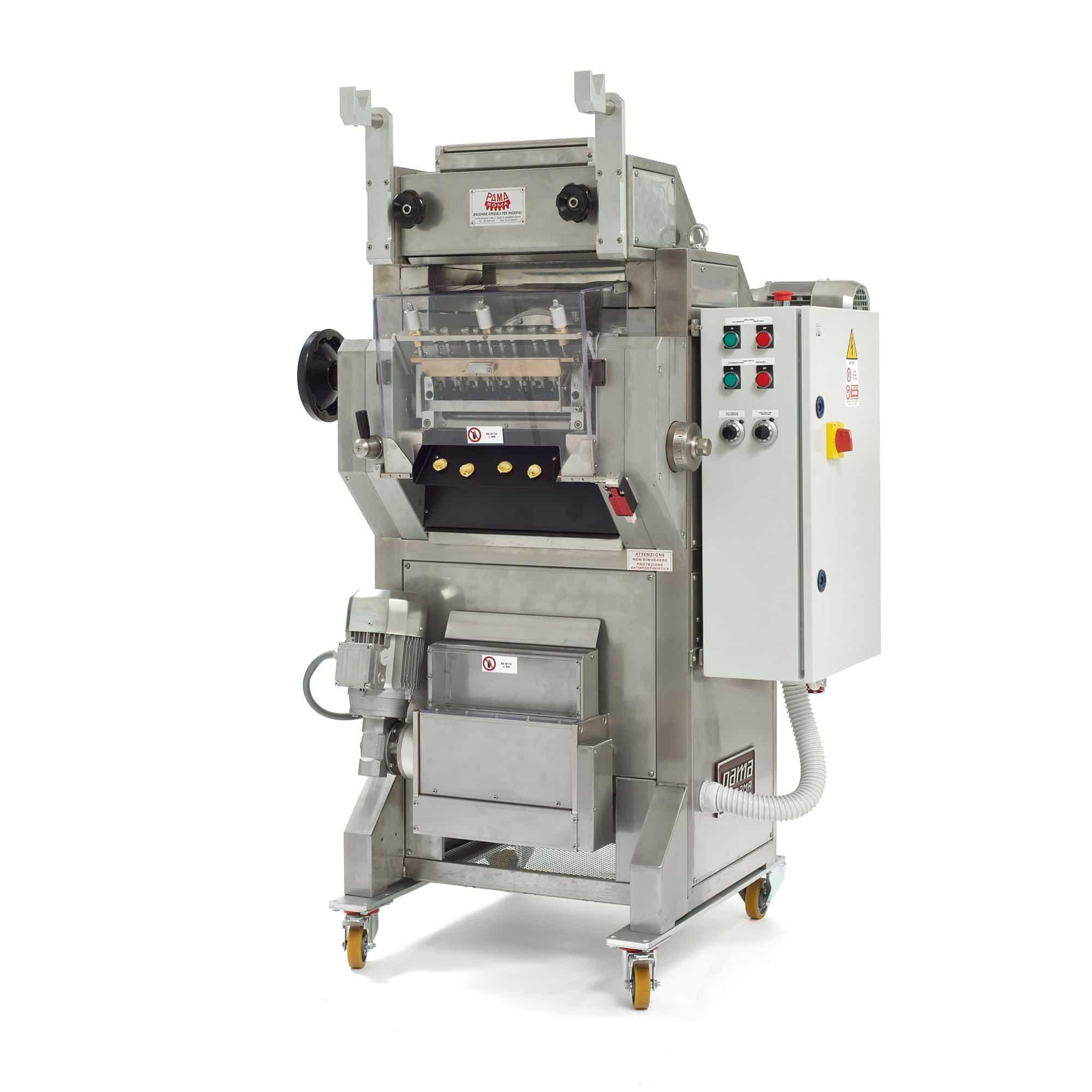 Cappelletti pelmeni agnolotti forming pasta machine