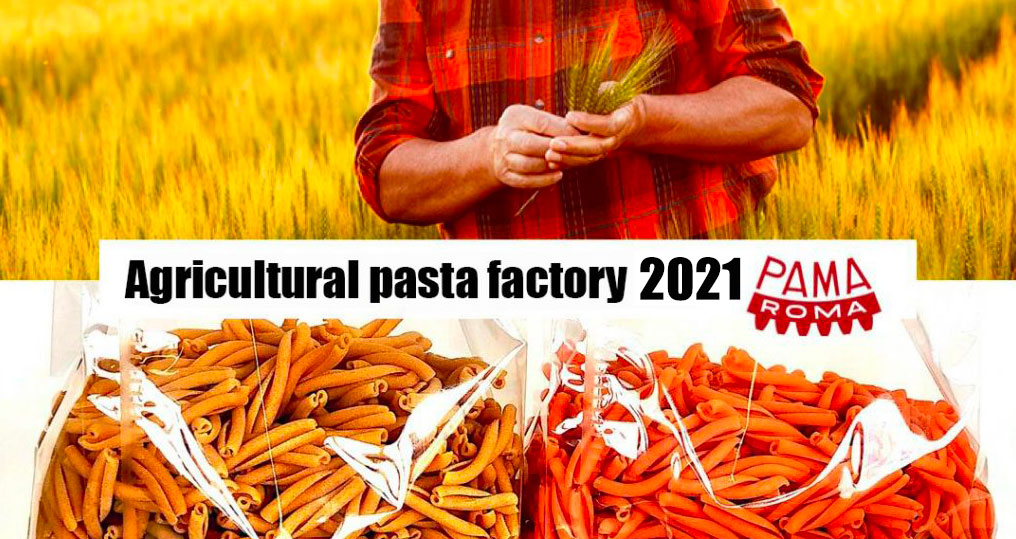 Open agricultural pasta factory